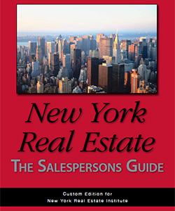 Real Estate Salesperson Practice Exam 1